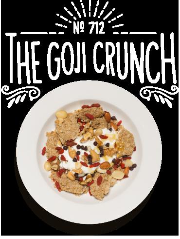 The Goji Crunch